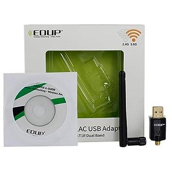 MXECO EP-AC1608 - Adaptador WiFi USB 600Mbps Dual Band 5Ghz ...