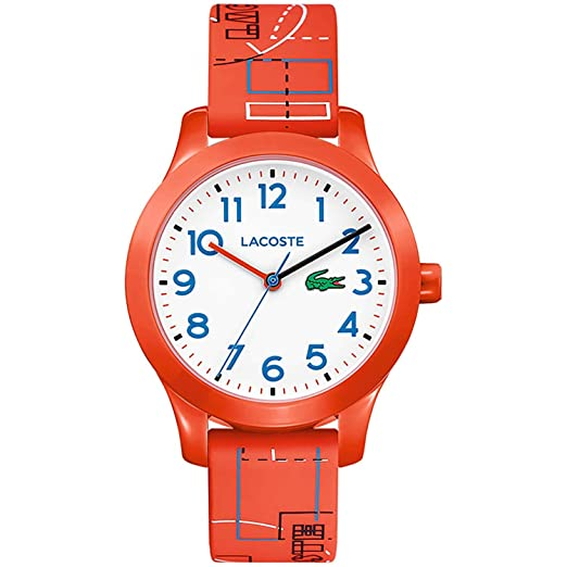 1a56726c567 Lacoste Unisex-Child Analogue Classic Quartz Watch with Silicone Strap  2030010  Amazon.co.uk  Watches