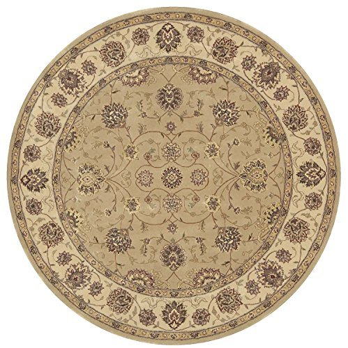 Nourison Traditional 2071 Round Area Rug 8' X 8'/Olive/Round