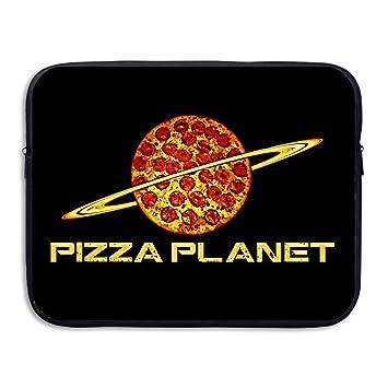 Amazon Com Pizza Planet Spill Resistant Waterproof Laptop Sleeve