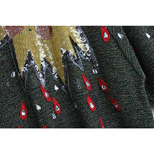Pista Chic Diamond Manicotto Paillettes L Sikesong Autunno Felpe Inverno Maglioni Ponticelli Vestiti Di Donna Designer s RqTdawP