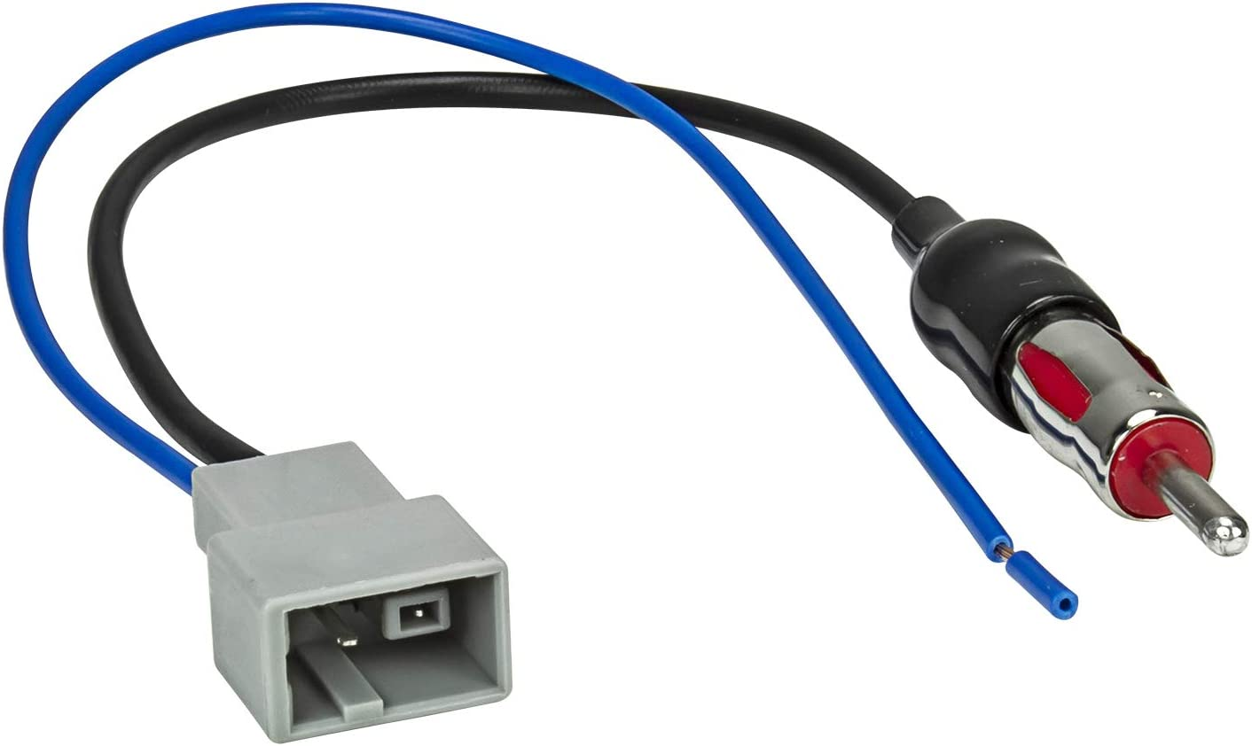 Tomzz Audio 1517 001 Antennenadapter Gt13 Din Kompatibel Mit Honda Civic Fit Jazz Pilot Nissan Navara