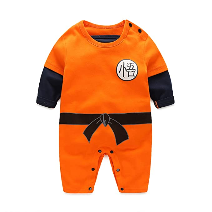 09446ff86 Amazon.com: Dragon Ball Z Cosplay Long Sleeve Baby Boy and Girls ...