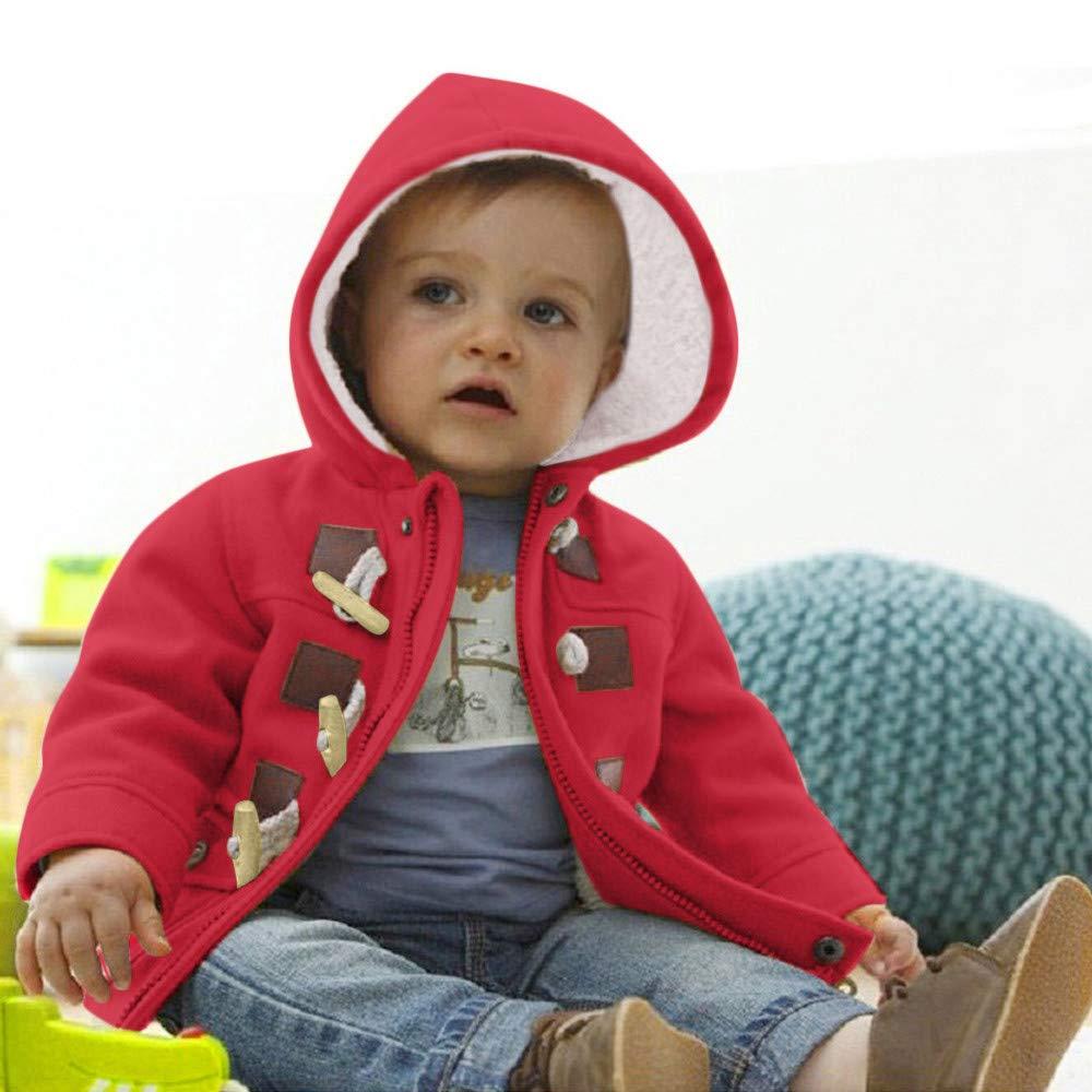 9773551f1 Amazon.com  Tronet Baby Boys Toddlers Fleece Outerwear Cotton Blend ...