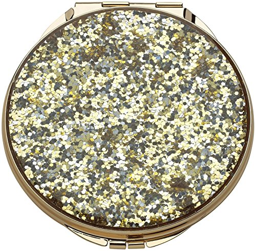 (Kate Spade New York Simply Sparkling Compact, Mirror Gold)