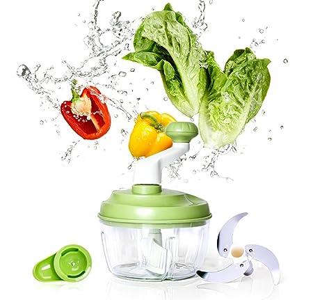 yivans mano Mincer verduras Licuadora Professional verduras Mincer ...