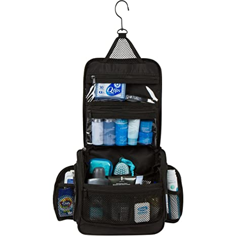 a262c5cc84 Image Unavailable. Image not available for. Colour  Travel Toiletry Wash Bag  and Hanging ...