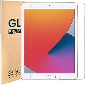 [1 Pack] iPad 8th Generation Screen Protector,Tempered Glass Film for iPad 10.2 Inch (iPad 8 2020,iPad 7 2019)