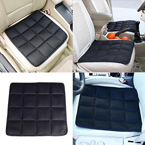 UNAKIM--1xHot Bamboo Charcoal Breathable Seat Cushion Cover Pad Mat For Car Office - Stores Mall Merced