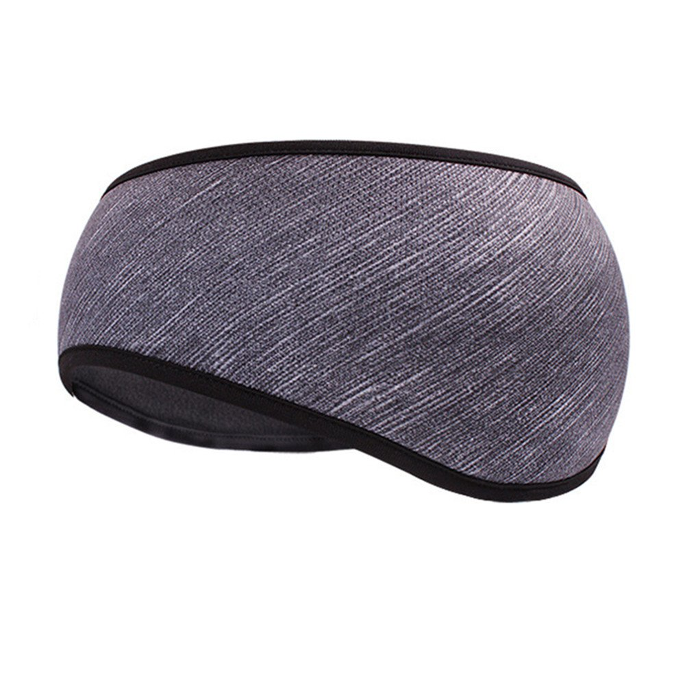 DKY Women's Polyester Headband Ear Warmers Ear Muffs [Dark Gray Style] With Cold Weather Headbands