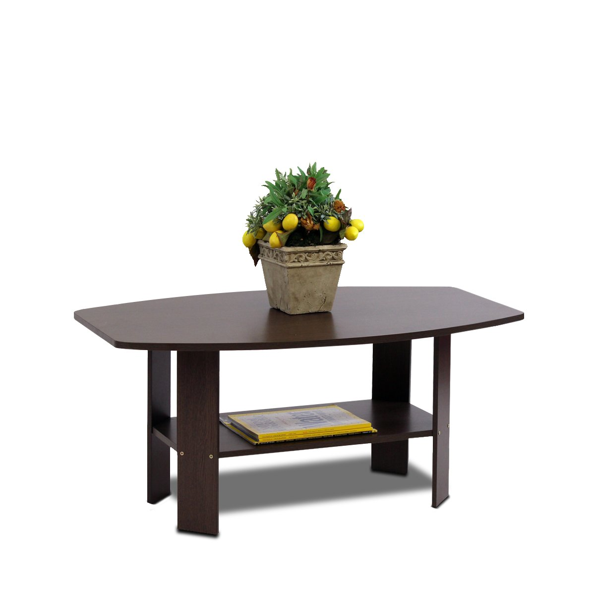 Furinno 11179DBR Simple Design Coffee Table