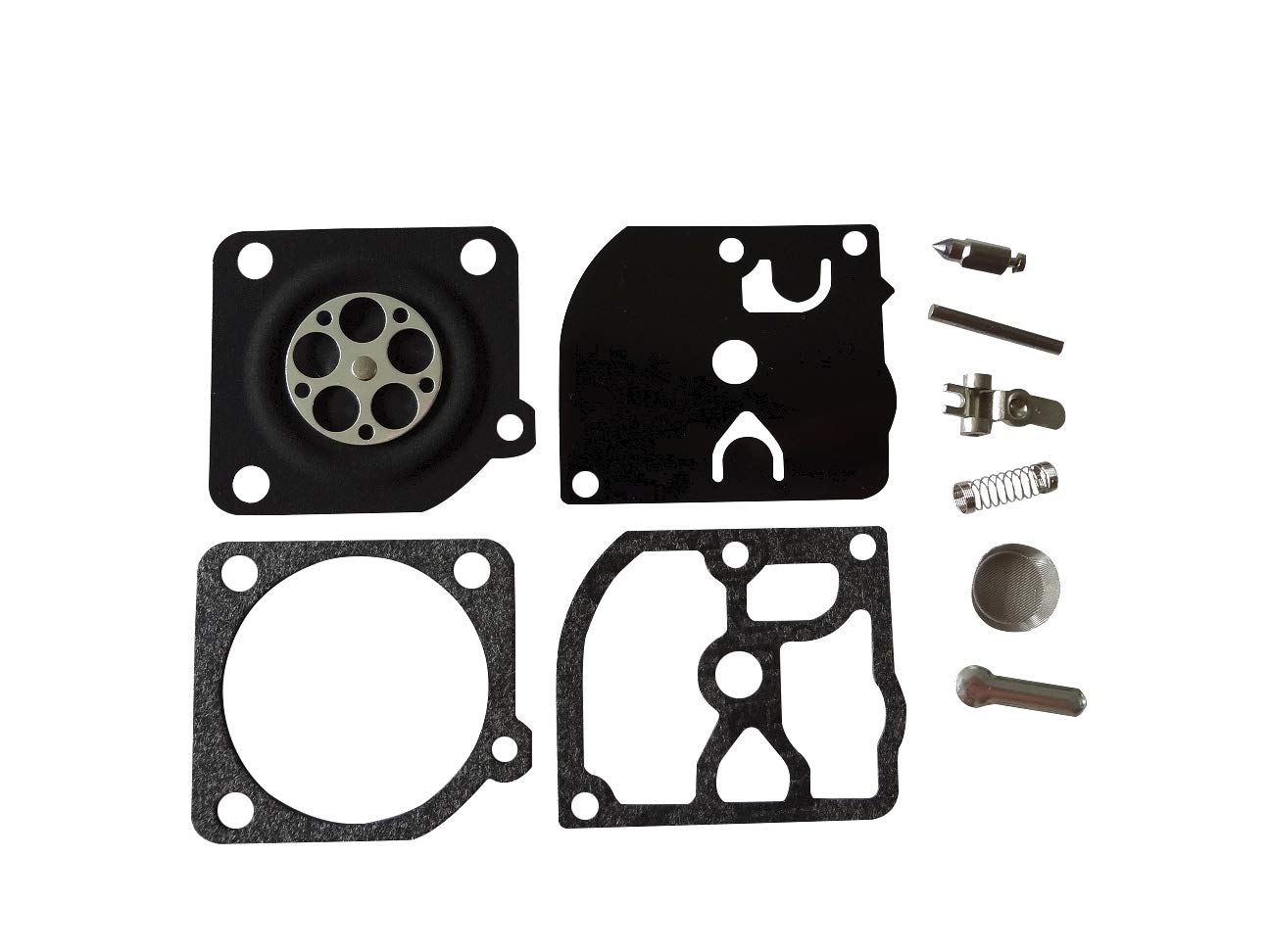 Carburetor Repair/Rebuild Kit Replaces ZAMA RB-39 for Zama C1Q Carburetors Homelite 250 McCulloch 38cc 35cc 32cc Chainsaw Eager Beaver 3214