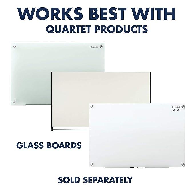 Amazon.com: Quartet Imanes, pizarra blanca de cristal, tabla ...