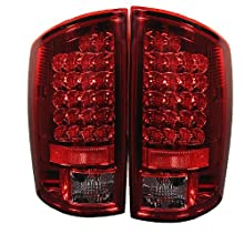 Spyder Dodge Ram 1500 02-06/ Ram 2500 02-05 /Ram 3500 02-05 LED Tail Lights - Red Clear