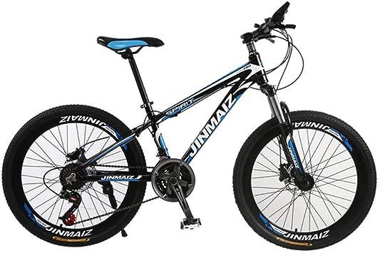 Bicicleta De Montaña 21 Velocidades Doble Freno Disco Freno Disco Tenedor Resorte Aleación Aluminio Bicicleta Montaña Damas Bicicleta 24 26 Pulgadas: Amazon.es: Deportes y aire libre