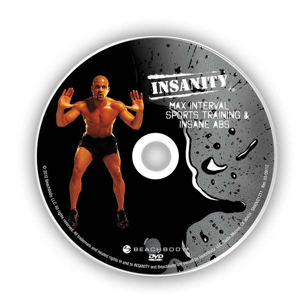 Fitness Beach Dvd: Insanity Workout Max Interval Sports Training And Insane