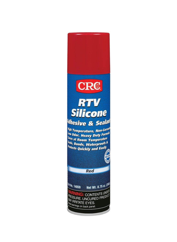 CRC 14059 RTV Silicone Sealant - Red, 8.75 Wt Oz
