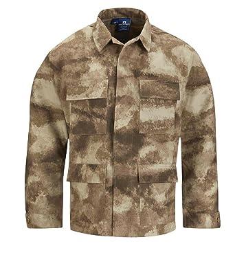 Amazon.com: Chamarra con diseño de uniforme militar ...