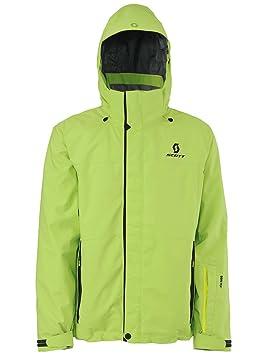 Scott - Chaqueta de Snowboard rals Ton Chaqueta, Hombre, Color Green Flash, tamaño Large: Amazon.es: Deportes y aire libre