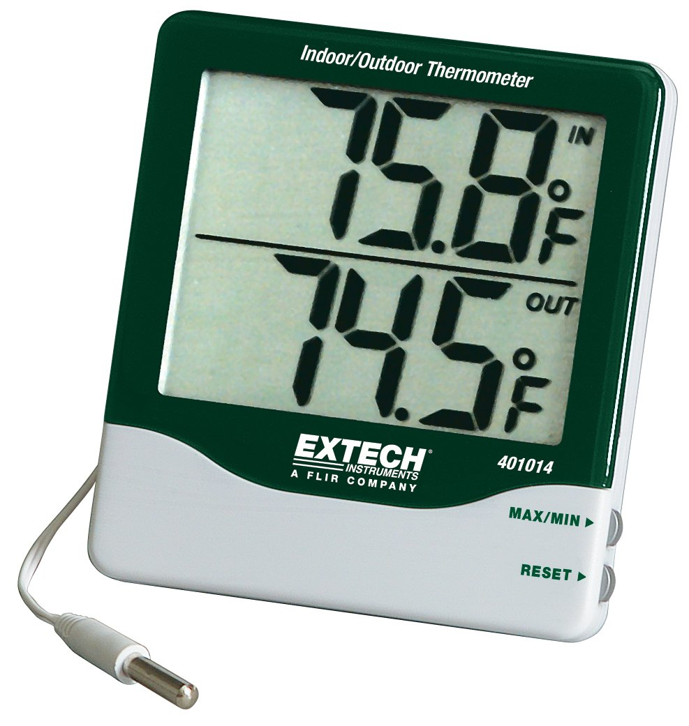 Extech 445703 Big Digit Hygro-Thermometer with Min/Max Extech Instruments