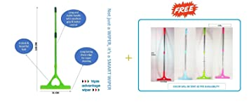 AMIDE BY AD.COM™ Apple Wiper Free with Heart Wiper (for Floor Bathroom Kitchen or Glass Cleaning)