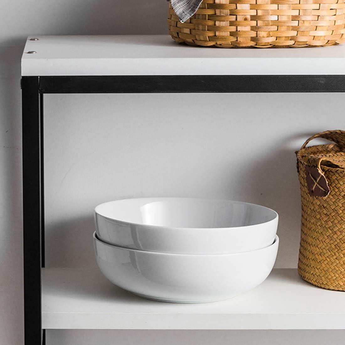 Amazon.com: Juego de cuencos de porcelana de 3,2 litros ...