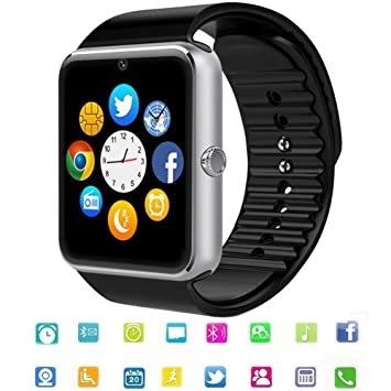 Reloj Inteligente Smart Watch Bluetooth Tagobee TB04 Tarjeta SIM Cámara Podómetro Whatsapp Notifications Compatible con Todos