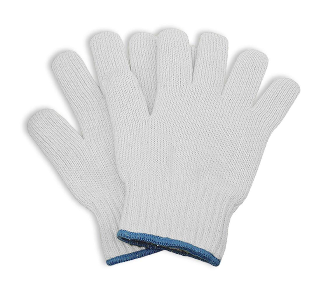 KOSMOS Trade Oven Cotton Gloves - Heat Resistant BBQ and Oven High Temp Gloves - 2 Pack