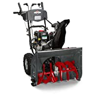 Briggs & Stratton 1696619 Dual-Stage Snow Thrower with 250cc Engine and Electric Start
