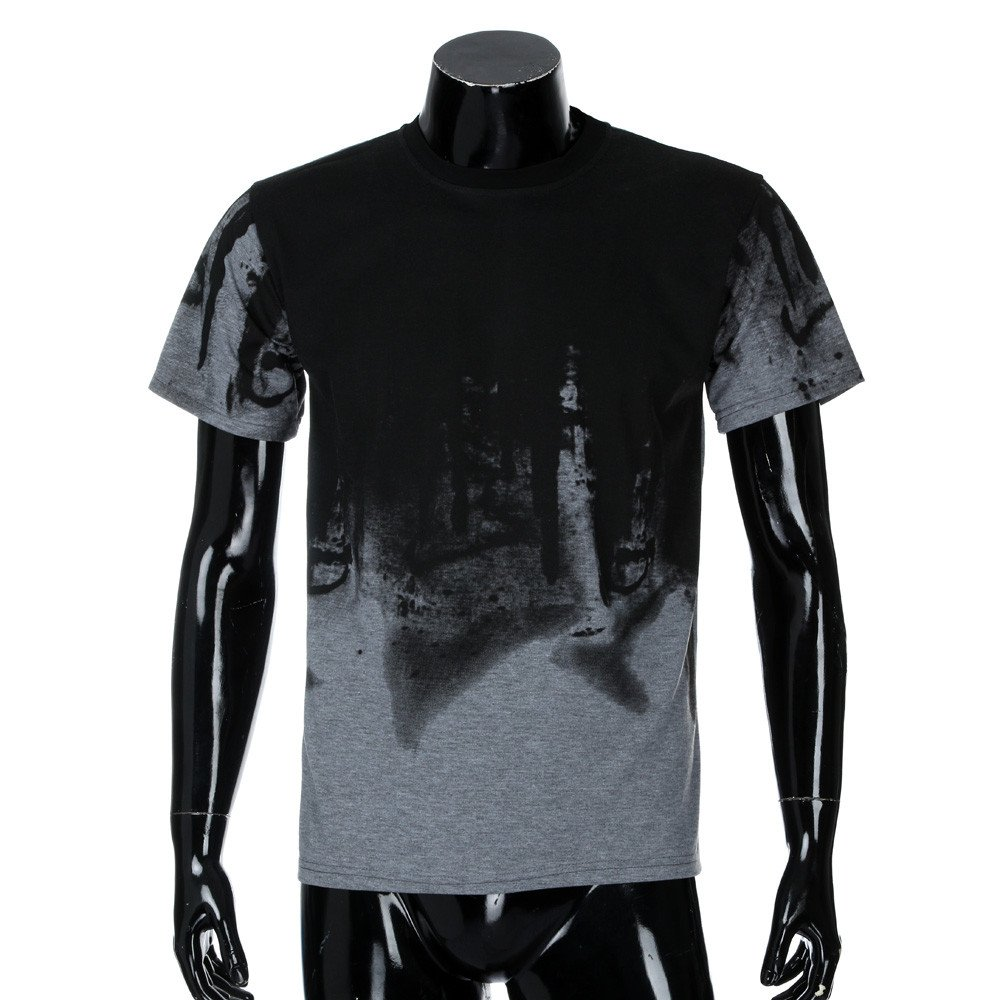 Rambling New Men Tee Slim Fit Short/Long Sleeve Muscle Casual Tops Blouse Shirts by Rambling-Men's Outwear (Image #3)