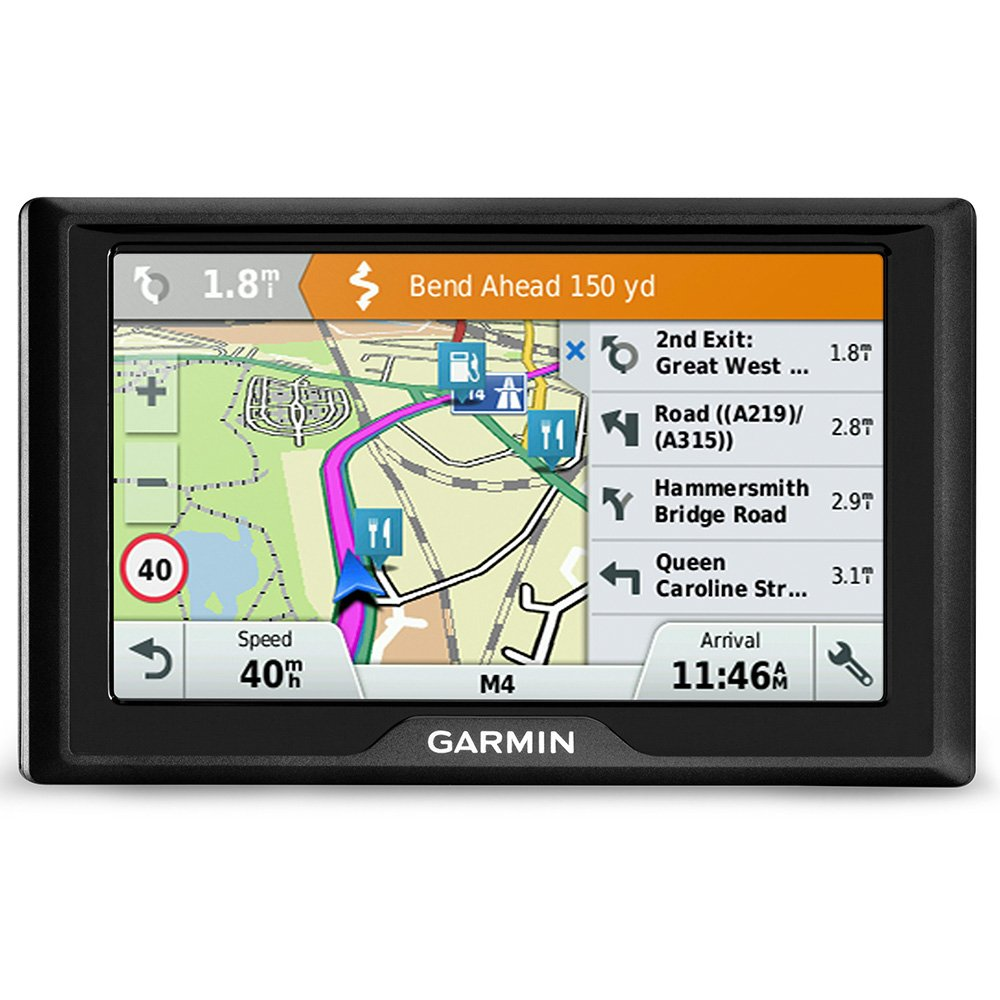 Garmin Drive 51LMT-S 5 Inch Sat Nav with Lifetime Map Updates for UK and Ireland and Free Live Traffic Black