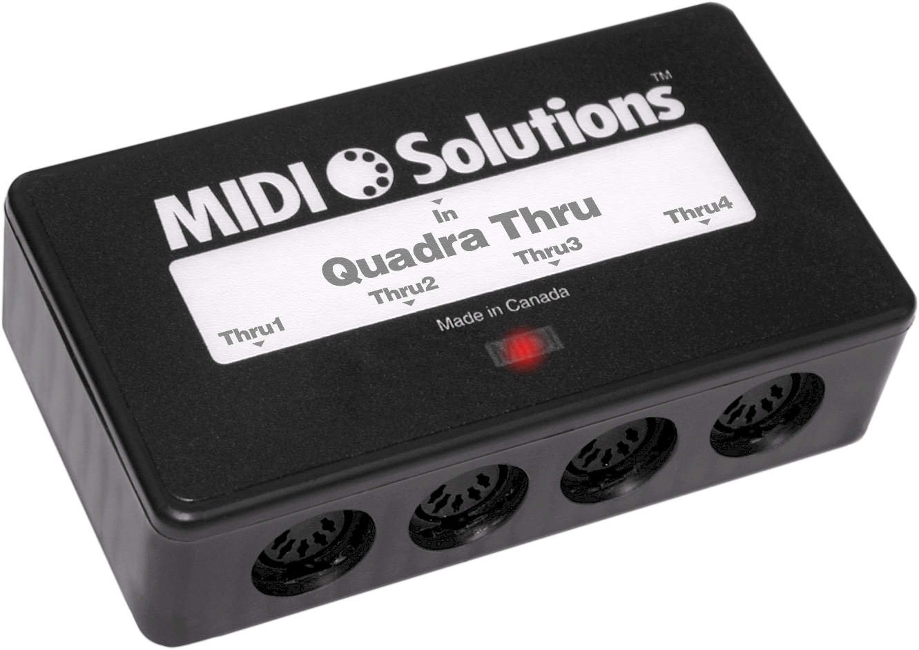 Interface Midi Solutions Quadra Thru MID-5990