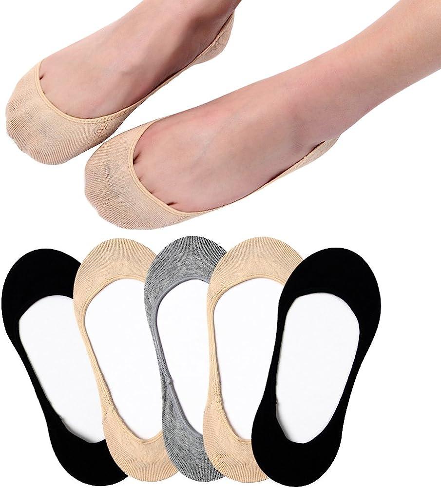 Ultra Low Cut Liner Socks Women No Show Non Slip Hidden Invisible for Flats Boat Summer