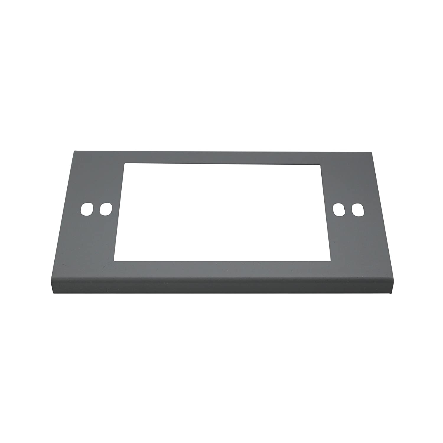 Wiremold G3051LE Device Plate Cover Surface Metal Raceway, Gray ...