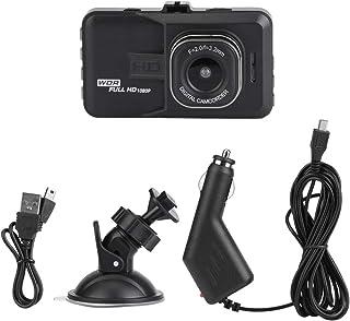 KIMISS Dash Cam, 3 pouces Full HD 1080P Grand Angle 140 °Enregistreur Vidéo voiture DVR Caméra de Bord Support Enregistreur de Conduite USB/HDMI