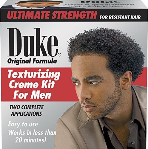 Duke Texturizing Creme Kit for Men Ultimate, 2 Count Creme Texturizing Kit