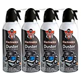 PC Hardware : Dust-Off Disposable Compressed Gas Duster, 10 oz Cans, 4 Pack