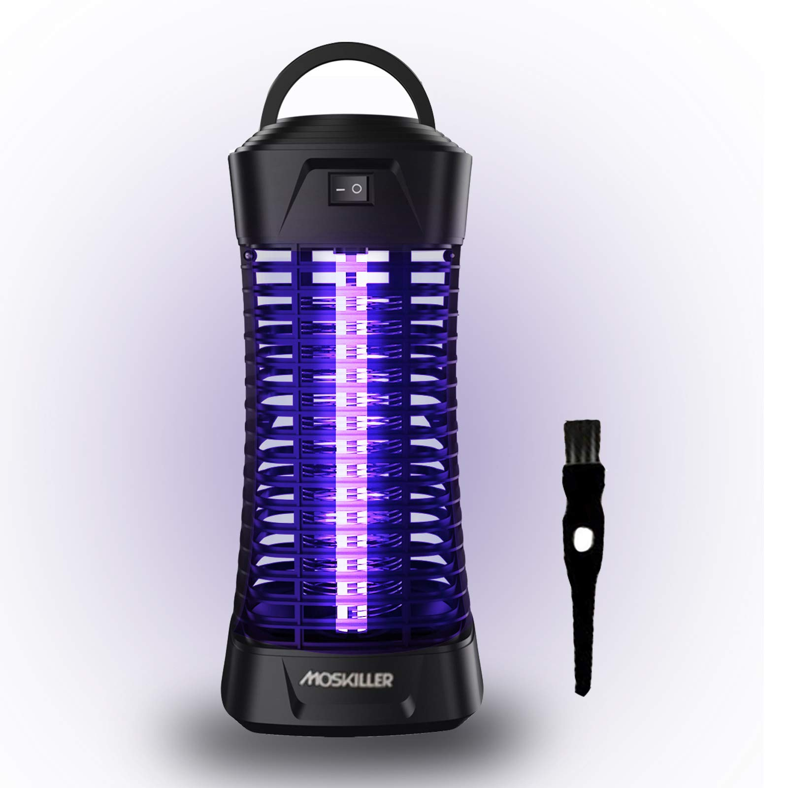 seenlast Mosquito Killer Lamp, Electric Fly Bug Zapper Insect Pest Control Repeller Catcher with UV LED Light Trap, Portable for Indoor Use