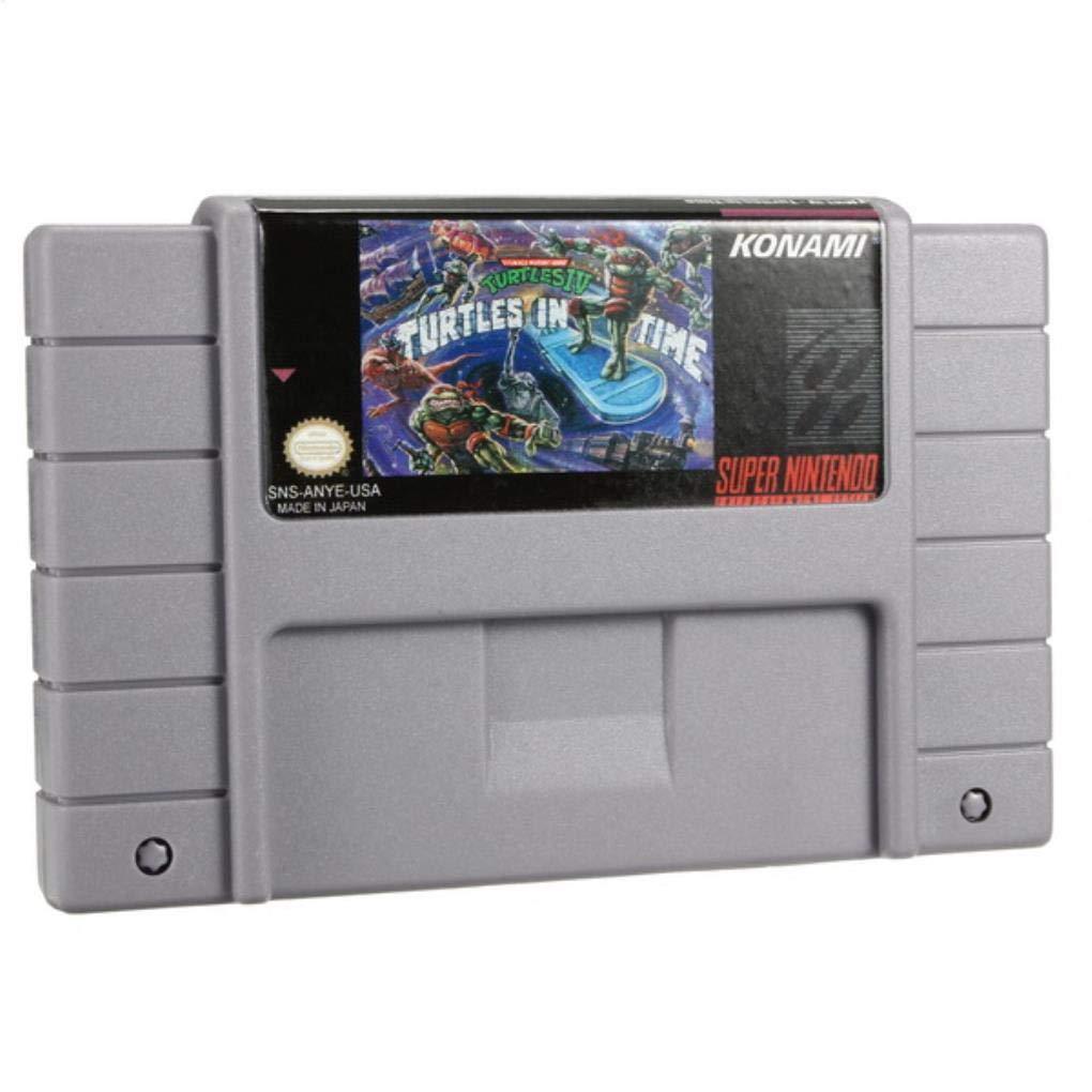 Yongse Teenage Mutant Ninja Turtles IV 46 Pin 16 bit Game ...