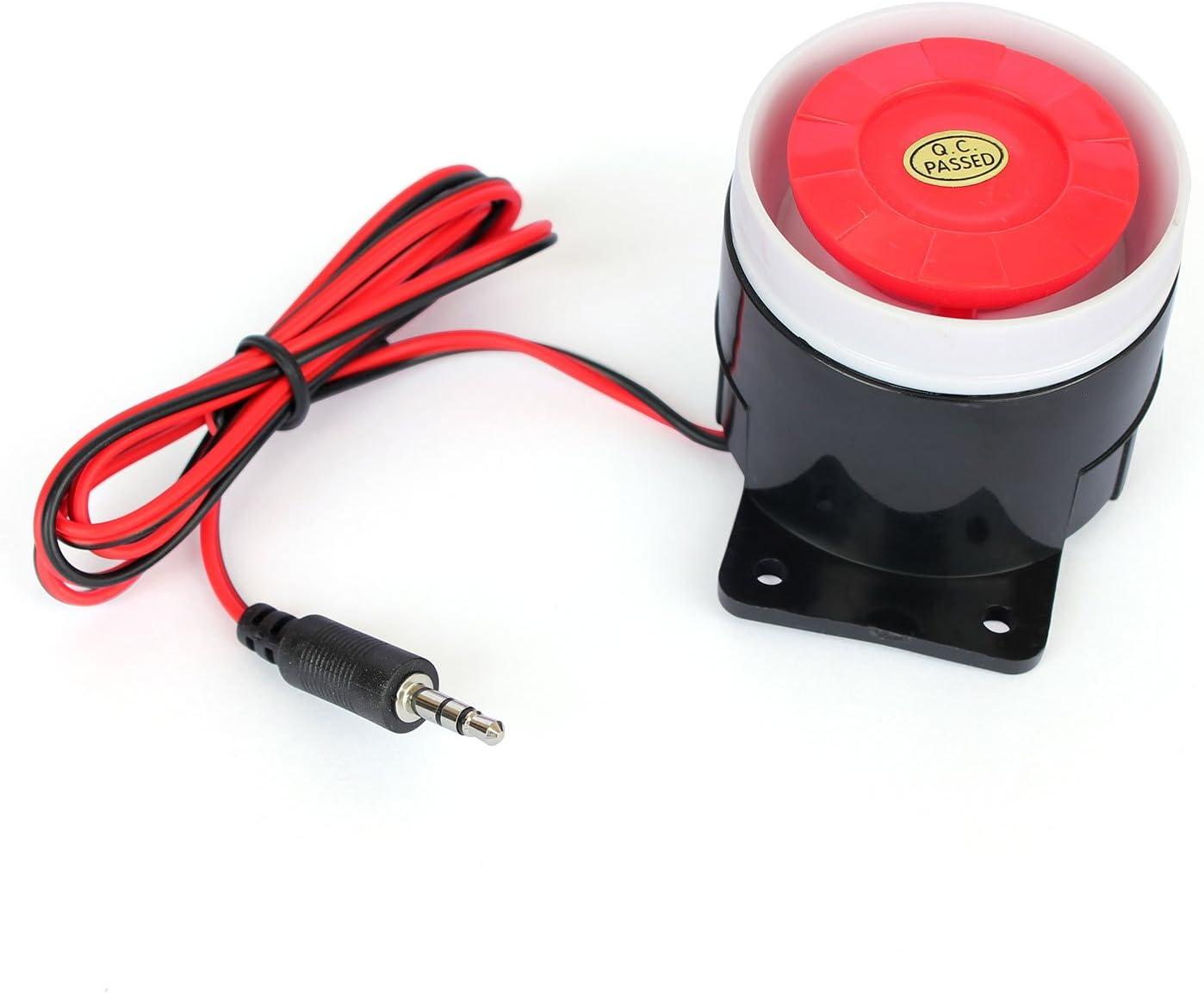 Ytian Home Safe Alarm 120db Sirène d'intérieur pour Alarme GSM avec  connecteur Jack 3,5 mm: Amazon.fr: High-tech