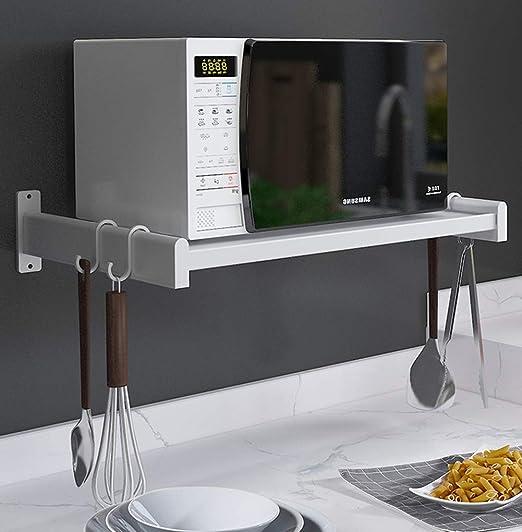 Estante de horno para microondas, soporte de almacenamiento ...