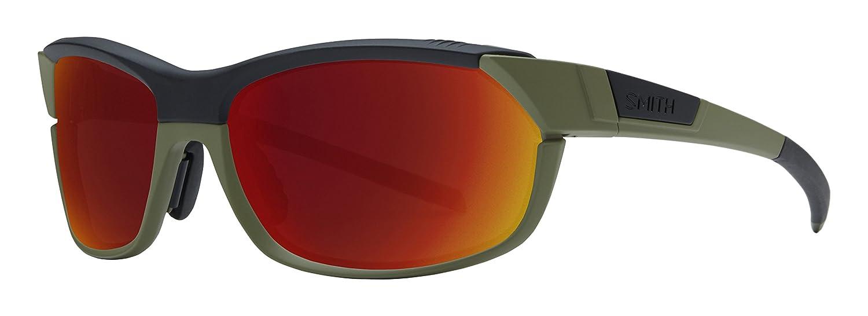 Smith ovpcdmmob Herren Matt Schwarz Rahmen rot olivgrÜn Objektiv Sport-Sonnenbrille