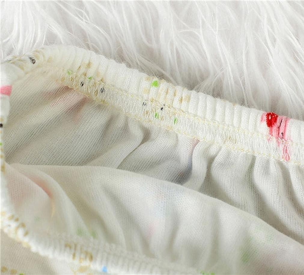 Tefamore Pa/ñales beb/é de Tela Reutilizables Pantalones de entrenamiento de algod/ón para Pa/ñales lavables
