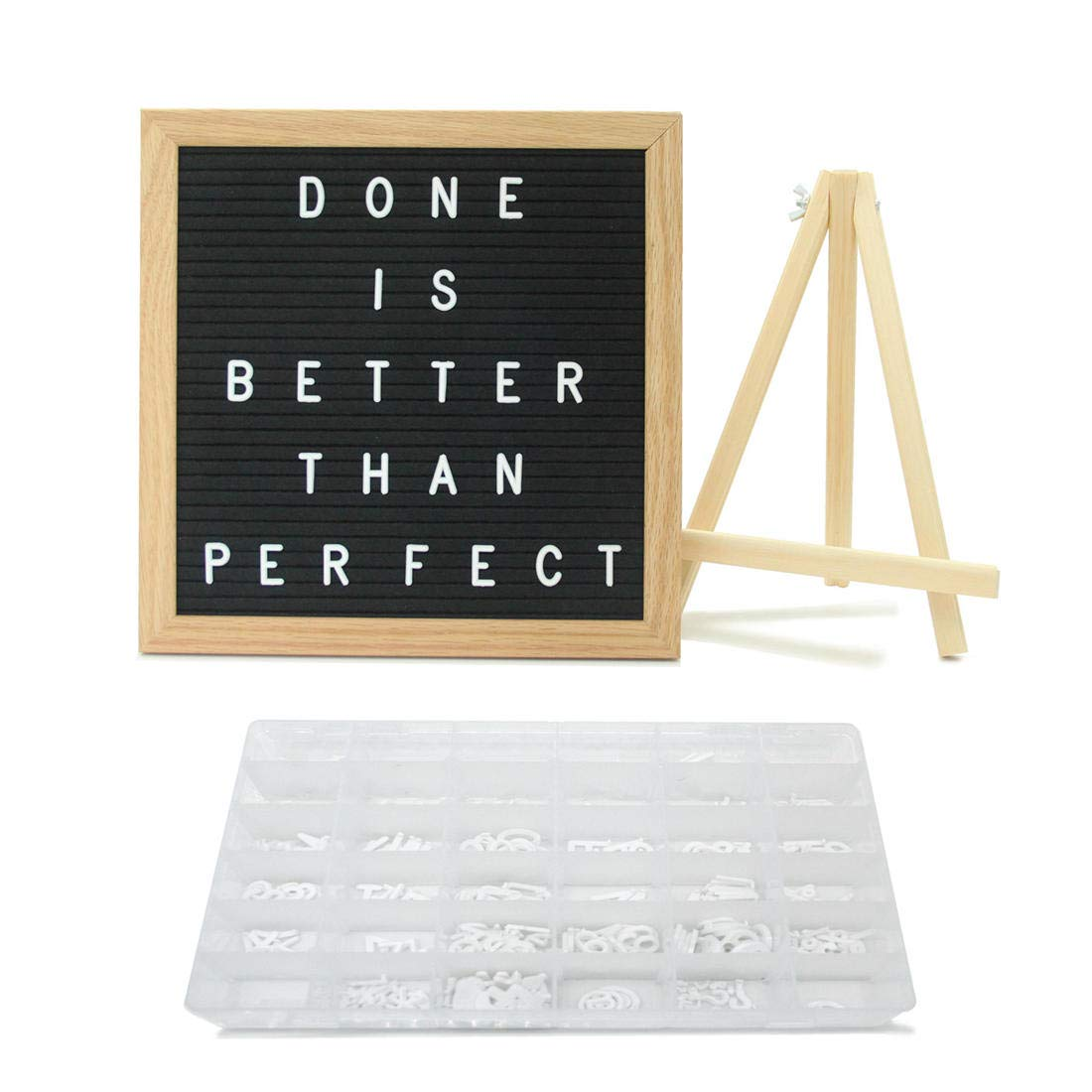 Personalized Changeable Letters for Letter Board, 4 Sheets, White, Including Art Font January to December, Monday to Sunday, Alphabets, Numbers, Words & Symbols - Hearts, Happy, Arrows, Happy, # & HiHa