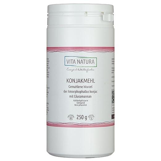 2 opinioni per Radice di Konjac per la riduzione del peso con Glucomannano 250g