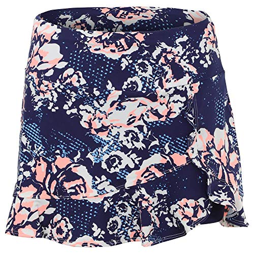 (Tail Melon Punch Ruffle Hem Skirt - Botanic Blue - Small)