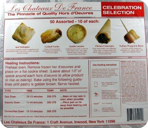 Celebration Appetizer Assortment - 50 Pcs
