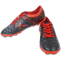 Vector X Fizer Indoor Football Shoes (Black-Red)