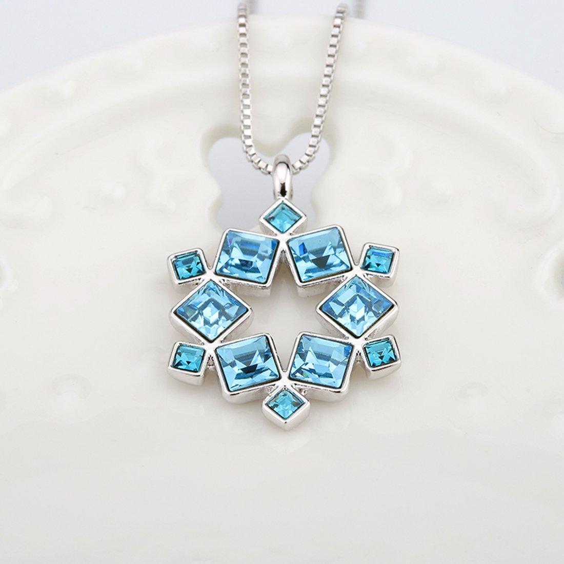 Bijoux Collier Pendentif LAutriche de Cristal Alliage Pour Femme d/éstockage JiangXin/®