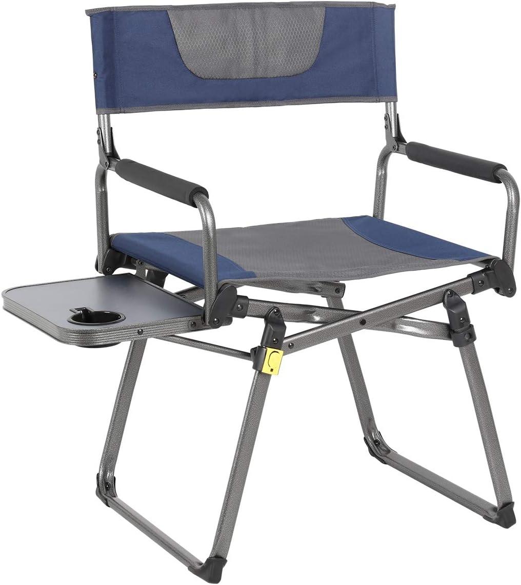 - Amazon.com : PORTAL Compact Folding Directors Chair Heavy Duty
